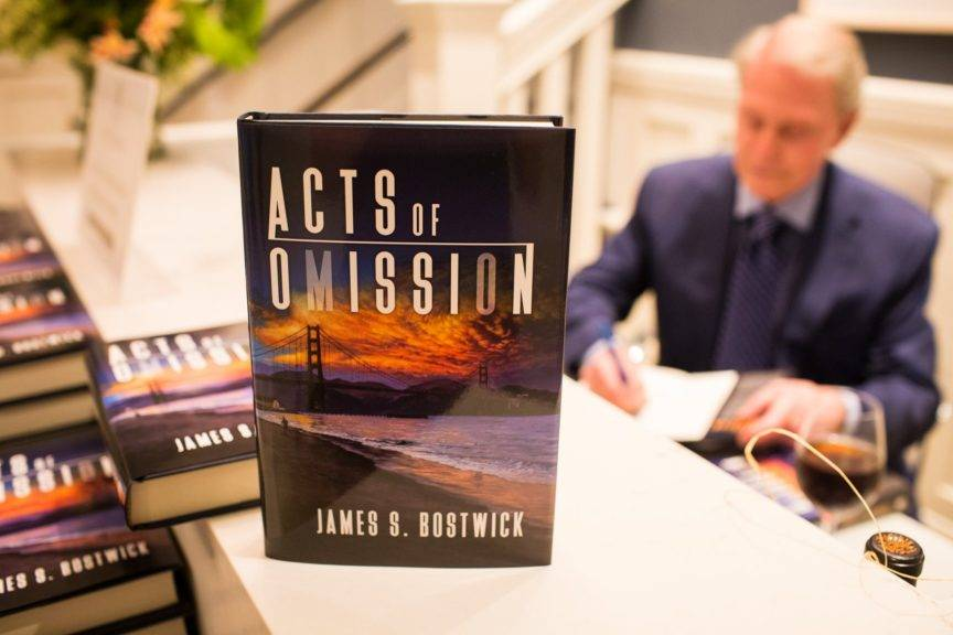 meet acts of omission author james bostwick