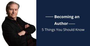 James 5 things to become and author