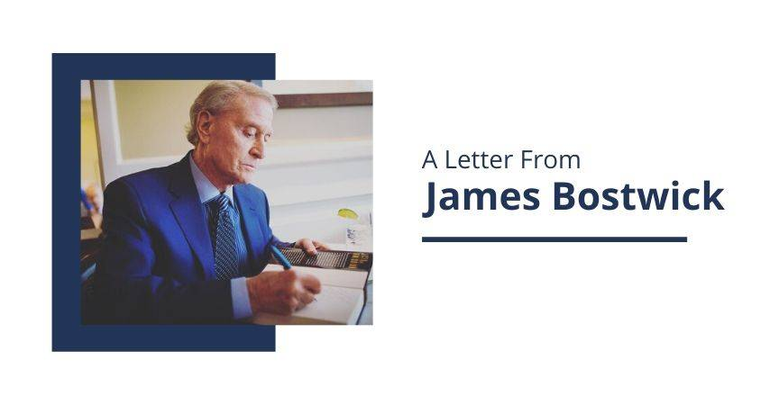 A Letter From James Bostwick