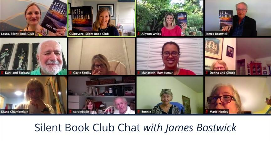 Silent Book Club Chat with James Bostwick