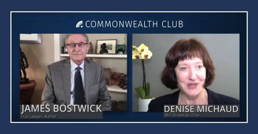 James Bostwick's Talk with the Commonwealth Club Available Online