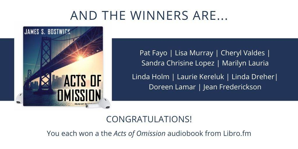 Acts of Omission Libro.fm Audiobook Facebook Contest Winners