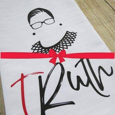 Ruth Bader Ginsburg tRuth Keepsake Tea Towel Gift